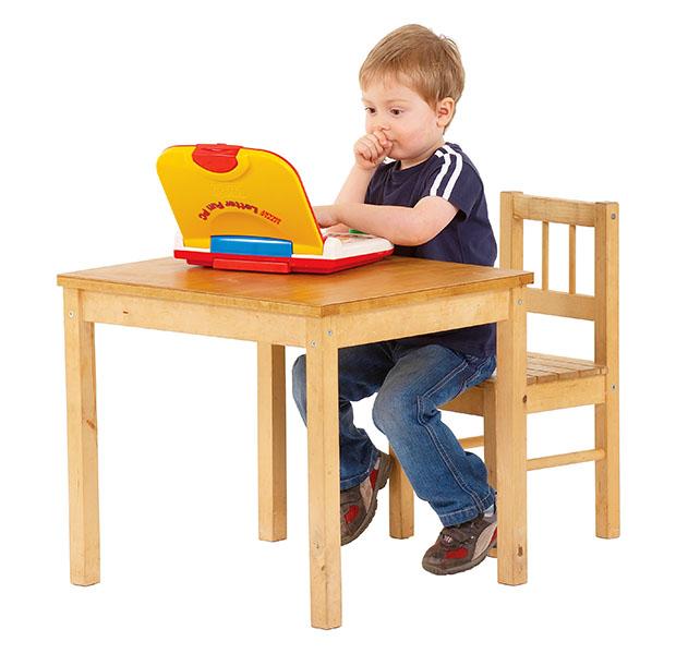 boy on a computer