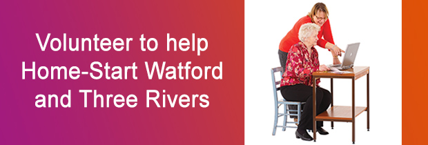 Volunteer to help Home-Start Watford
