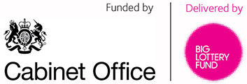 Funded by the Cabinet Office, delivered by the Big Lottery Fund